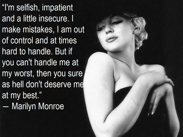 Marilyn Monroe Quotes - My best